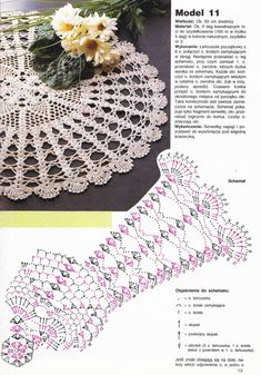 Photo from album Crochet Doily Diagram, Crochet Doily Patterns, Crochet Mandala, Crochet Chart, Thread Crochet, Filet Crochet, Crochet Doilies, Crochet Stitches, Knit Crochet