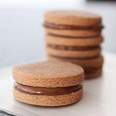 #Nutella Sandwich #Cookies