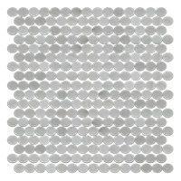 Glass Pearl Penny $24.99 Sq Ft      Coverage 13.56 Sq Ft per  Box