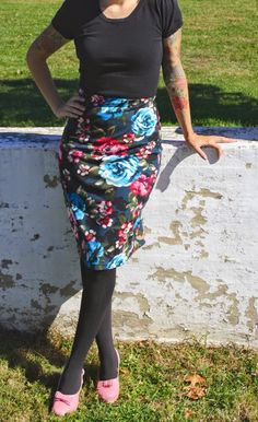 Gertie's New Blog for Better Sewing: Comfiest Ever Pencil Skirt
