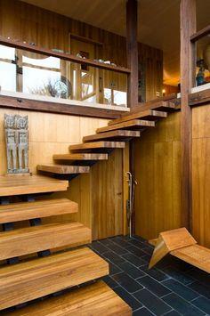 Une maison intimiste par Pete Bossley architecte decodesign / Décoration