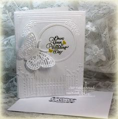 Our Daily Bread Designs Stamp sets:	Wedding Blessings, To The Lovebirds, ODBD Custom Dies: Fancy Fritillary, Circle Ornament, Matting Circles. Gilded Gate Die