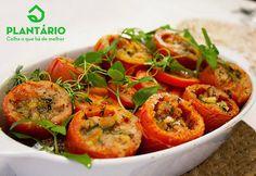 Aromas do Cumbuco: Receita: Tomate com Ervas Frescas!