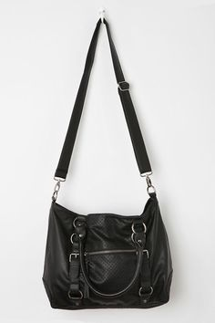 a34d31cc6b Deena & Ozzy Quilted Harness Satchel Deena Ozzy, Wearing All Black,  Purse Styles