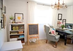 Multifunctional Office and Playroom