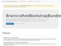 BraincraftedBootstrapBundle