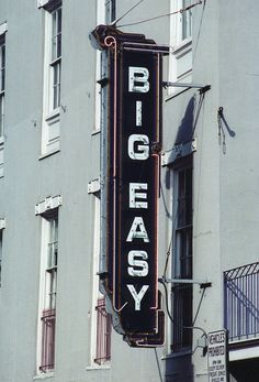 """The Big Easy, New Orleans, LA.  Did you know that no one EVER called NOLA """"the Big Easy"""" until that movie came along?  Seriously!"""