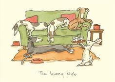 The Bunny Club by Anita Jeram