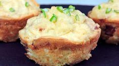 Pastelitos de patata (con beicon y queso)