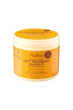 SheaMoisture Raw Shea Butter Deep Treatment Masque Family Size 16oz   - Beauty by Zara