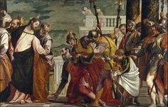 Jesús y el centurión. This is about a centurion who came to Jesus for help.