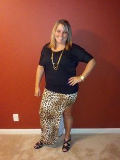 New Cheetah Skirt :)