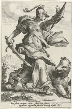 Art prints by Hendrick Goltzius - Woede