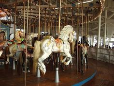 old fashioned carousel horses - Google Search