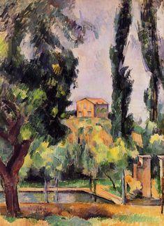 Paul Cézanne ~ Jas de Bouffan, 1887