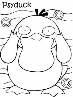 Pokemon Fargelegging. Tegninger 43