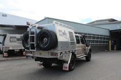 Toyota Landcruiser Aluminium Canopy