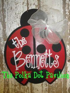http://polkadotpavilion.com/item_95/Ladybug-Door-Hanger.htm