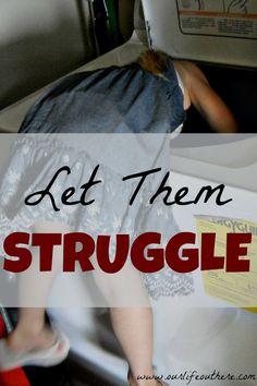 let them struggle pin