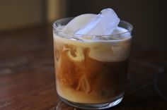 Magical Coffee by ErinH: Cold brewed with cinnamon & brown sugar, served over ice with a pour of cream.