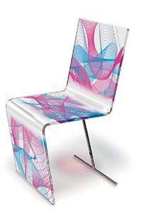 Chaise Kaos par Karim Rashid
