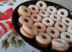 Thing 1, Crinkles, Bagel, Christmas Cookies, Doughnut, Bread, Cooking, Desserts, Food