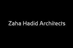 Zaha Hadid Architects logo designed by Tje Green Space