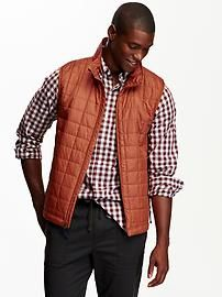 Men's Quilted Vests