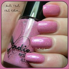 Jindie Nails: Pink Stilettos