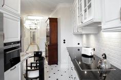 Art Deco Influences Defining Contemporary Apartment in Warsaw - http://freshome.com/2014/02/07/art-deco-influences-defining-contemporary-apartment-warsaw/