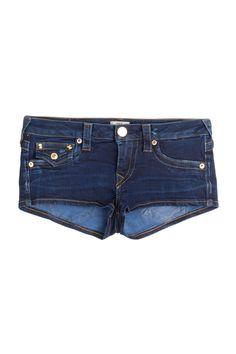 True Religion - Joey Cut-Off Denim Shorts