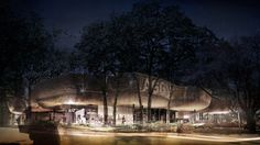 Art Gallery of Greater Victoria by 5468796 and Number TEN named Future Project of the Year 2014 - World Architecture Festival 2014 World Architecture Festival, Landscape Architecture, Shading Device, Beyond Paint, Render Image, Best Architects, Tree Canopy, Interesting Buildings, Building Design