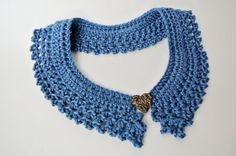Very Pretty!  Crochet Pattern Collar  Photo Tutorial and by SimplyCollectible, $4.99