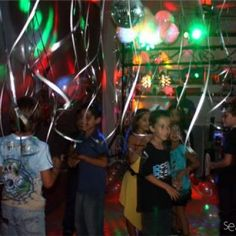 Do-it-yourself disco party for a seven year old (birthday party idea).