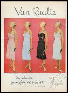 Vintage Colors, Vintage Prints, Vintage Photos, Vintage Lingerie, Print Ads, Fashion Prints, Vibrant Colors, Vintage Fashion, Stockings
