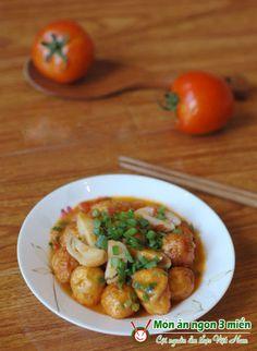 Món kho ngon - Trứng cút kho nấm ~ Món ăn ngon 3 miền