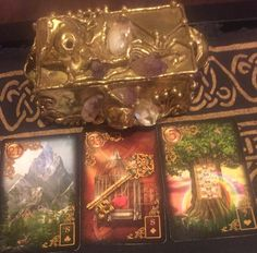 December 21st:  Lenormand Universal Day Spread:  Day:  21: Mountain Day + Month:  21 + 12 = 33: Key Day + Month + Year:  21 + 12 + 8 (2+0+1+5) = 41/5: Tree Mountain: Eight of Clubs:  Air Key:  Eight of Diamonds: Earth Tree: Seven of Hearts:  Water Mountain:  Negative Key: Positive Tree: Neutral Message: Today in the cards I see you blocked (mountain) seeking answers (key), which could result in better health (tree). Go to:  dnaprofilesapp.com/lenormand #annewalner #lenormand #cartomancy…