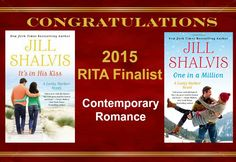 I'm a double RITA finalist, which is VERY exciting! The RITAs are kind of like the romance authors Oscars if that makes sense... So honored!!