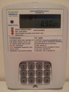 Prepaid Meters for Electricity and Water similar to Prepaid Mobile Phones supplied by Prepaid Meters Australia Save Electricity Water and the Environment Prepaid Electricity, Pre Paid, Office Phone, Landline Phone