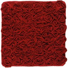 Aquanova Rose Bath Mat - Red - 60x60cm ($63) ❤ liked on Polyvore featuring home, bed & bath, bath, bath rugs, red, rose bath mat, red bath mat, bright red bathroom rugs and red bathroom rugs