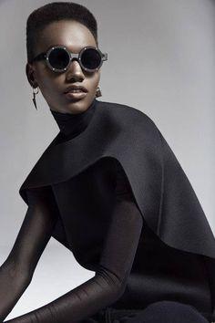 f1c73882f0 FEATURE  Tanzanian Model Herieth Paul Shines in New Fashion Magazine Photo  Series by Malina Corpadean