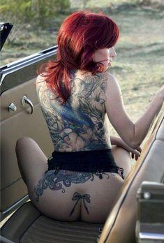 #MoonRayPicks Inked Babe