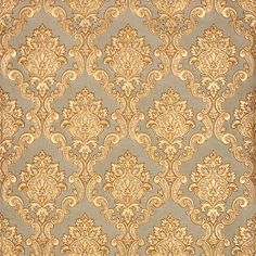 3D papel pintado oro de lujo 3D damasco Mural de la pared papel Roll salón dormitorio antecedentes Wallpaper oro rojo papel de parede