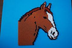 Horse hama perler by perleshama30