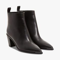 Boots Loma noires ACNE STUDIOS : Talons hauts ACNE STUDIOS - Le Bon Marché Rive Gauche