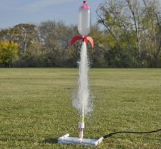 Blast off the rocket launch rocket launch soft drink and bottle this kit lets you make rockets out of water bottles solutioingenieria Image collections
