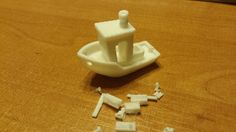 #3DBenchy - The jolly 3D printing torture-test by Japim. Based on a design by CreativeTools.