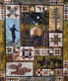 Image result for panel quilts