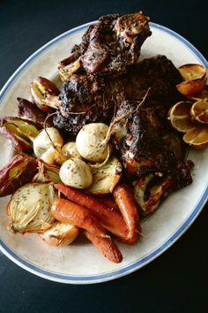 Sondagkos | Lamsboud, aartappels en groenboontjiebredie