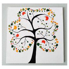 DecoArt® Shamrock Tree Canvas  #stpatricksday #irish #craft